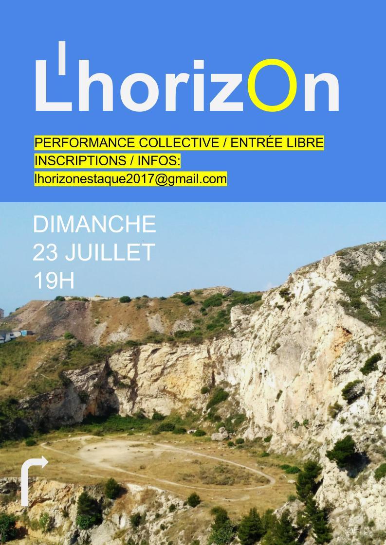 L'horizon / Sortie de résidence / Performance participative