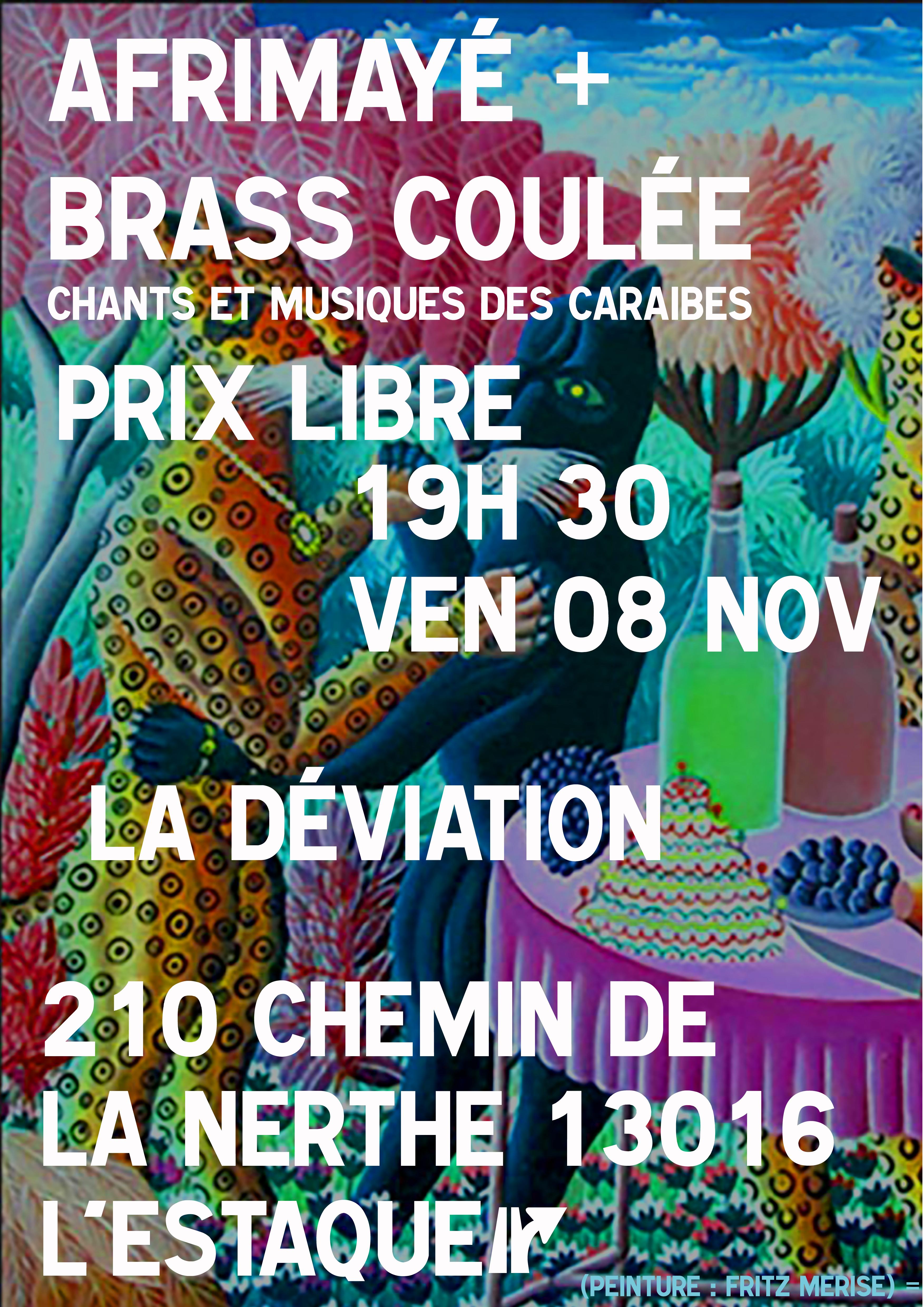Afrimayé & le Brass Koulé – Chants et musiques des caraïbes