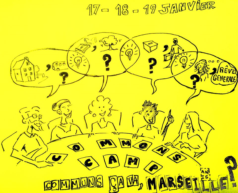 Commons Camp à Marseille -/- Jam session, performances, improvisations, danseur.ses, dj…